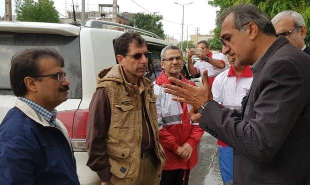 وضعیت آبگرفتگی بوشهر زیبنده نیست، لزوم جلوگیری از تکرار مسائل