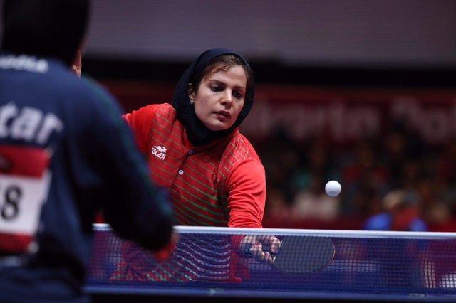 حذف تیم ملی پینگ پینگ بانوان ایران از مسابقات فنلاند