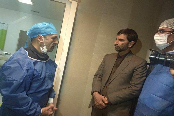 تیم پزشکی وزارت بهداشت بربالین دانش آموزان زاهدانی حضور یافت