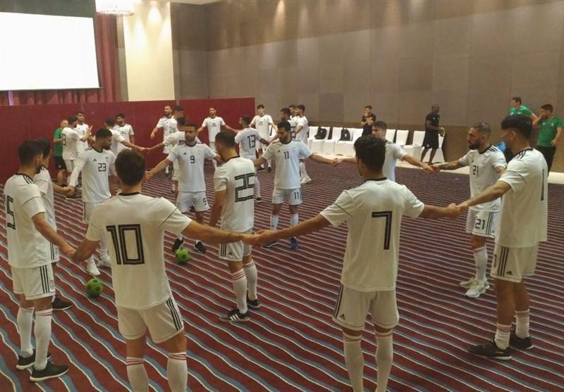 برگزاری تمرین سبک ملی پوشان در هتل پیش از مصاف با یمن