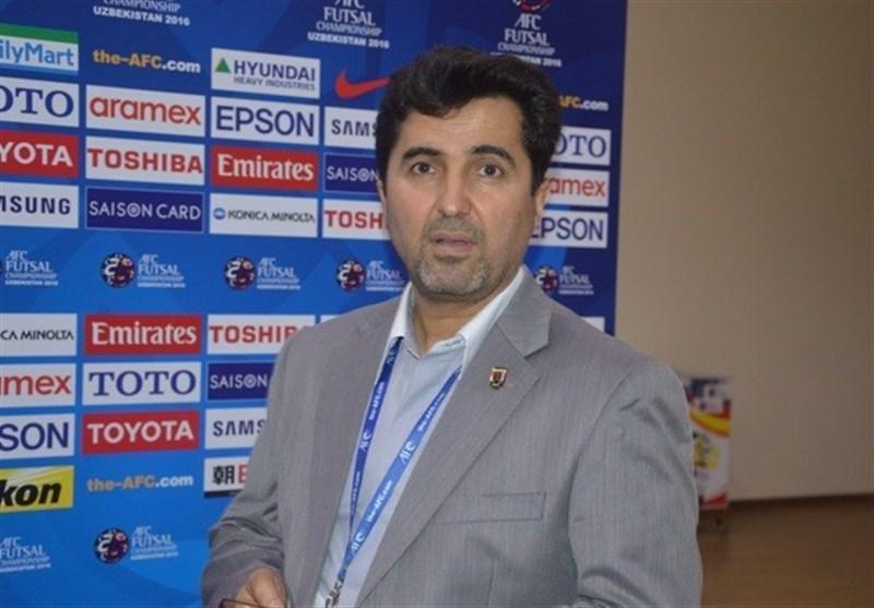 ناظم الشریعه: اردوی بعدی تیم ملی فوتسال با حضور بازیکنان اصلی برگزار می شود
